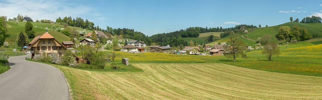 Spitex, ola, Oberes Langetental, Huttwil, Rohrbachgraben